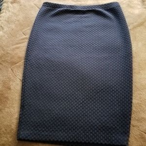Philosophy pencil skirt